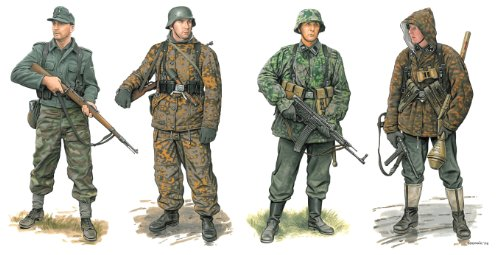 The Hobby Company Dragon 500776704–1 : 35 Armes grenadiere Allemande 1944–45