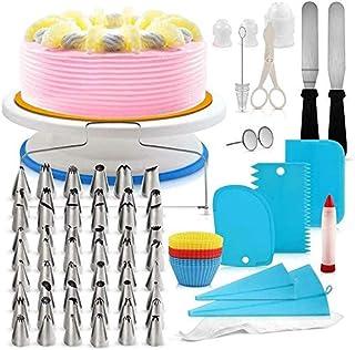 AZM-ENT Cake Decorating Tools, Baking Tools, Cake Tools, 106-PCS Cake Decorating Kit, Baking Tools, Pastry Tools, Cake Noz...