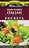 Walden Farms, Italian Dressing, 6 Packets, 1 oz Each