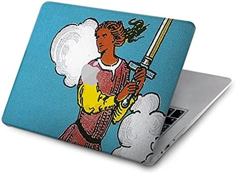 R3735 Tarot Card Our shop OFFers the best service Max 49% OFF Page of Swords Case Pro - Cover 15? for MacBook