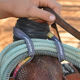 CLASSIC RATTLER ROPE ELASTIC LARIAT ROPE HOLDER STRAP