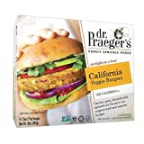 Dr Praegers California Veggie Burger, 10 Ounce -- 6 per case.