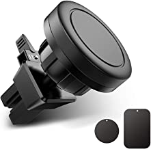 Magnetic Phone Car Mount Air Vent Universal Phone Holder for Car Compatible with iPhone, Samsung, Android Smartphones, GPS and Mini Tablets - Strong Magnet Hands Free 360° Rotation