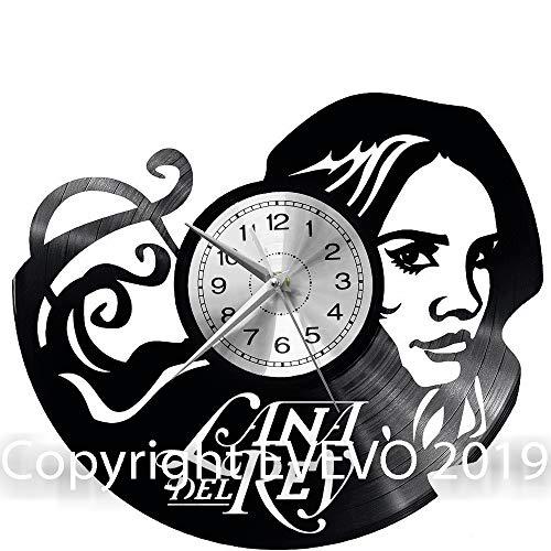 Lana Del Rey Wanduhr Uhr Vinyl Schallplatte Retro-Uhr groß Uhren Style Raum Home Dekorationen Tolles Geschenk Decor Raum Inspirierende Wand Vinyl Record Kovides Vinyl Home