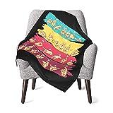 ASL Sign Language Baby Blanket Unisex Warm Super Soft Cotton Flannel Blanket