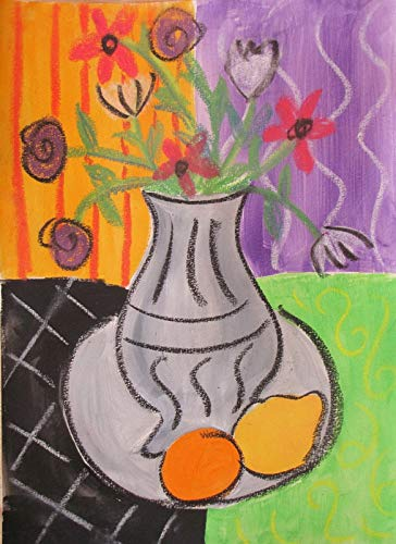 p5824 A4 Poster Henri Matisse Flower Vase - Art Painting Movie Game Film - wall Gift Reproduction Old Vintage Decoration