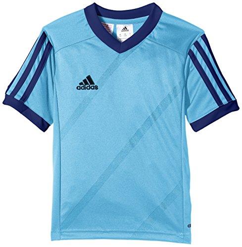 adidas Tabe 14 JSY - Camiseta para hombre, color azul / negro, talla S