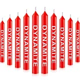 30 Pieces Dynamite Birthday Candle Cake Candle Party Candle for Birthday, Baby Shower, Wedding, Video Game Party Supplies