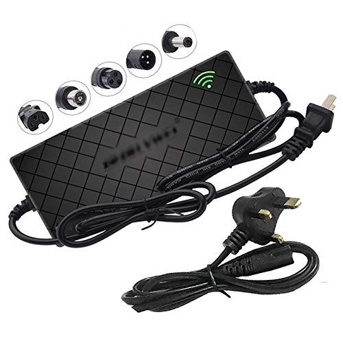 LIUPING Cargador Inteligente de batería 60V (2A / 3A / 5A) para Bicicleta eléctrica Scooter con Enchufe de CC (Opcional), Adecuado para Carga de batería de Litio (Color : 71.4V 3A, Size : G)