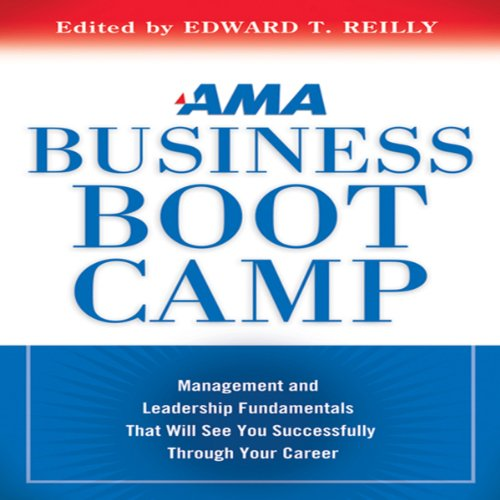 AMA Business Boot Camp audiobook cover art