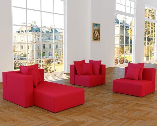 ::: MODELL CHRISTINA: DESIGNER WOHNLANDSCHAFT: 5 LUXUSTEILE + 12 KISSEN NEU ! in 6 Farben Alcantara-Look zur Auswahl > KOSTENLOSER VERSAND in AT & DE ! > BERATUNG: Tel: 0043(1)715-16-16, (Mo. bis Fr. 9.30 bis 15 Uhr) oder E-Mail: office.at@vienna-international-furniture.com :::