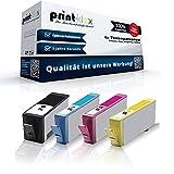 Print-Klex Patronen (mit Chip) kompatibel für HP 364 XL Deskjet 3070a D5445 D5460 Officejet 4610 4620 4622 Photosmart 5510 5514 5515 6510 7510 e-All-in-One, Photosmart HP364