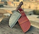 VKA0224 Handmade Damascus Steel Serbian...