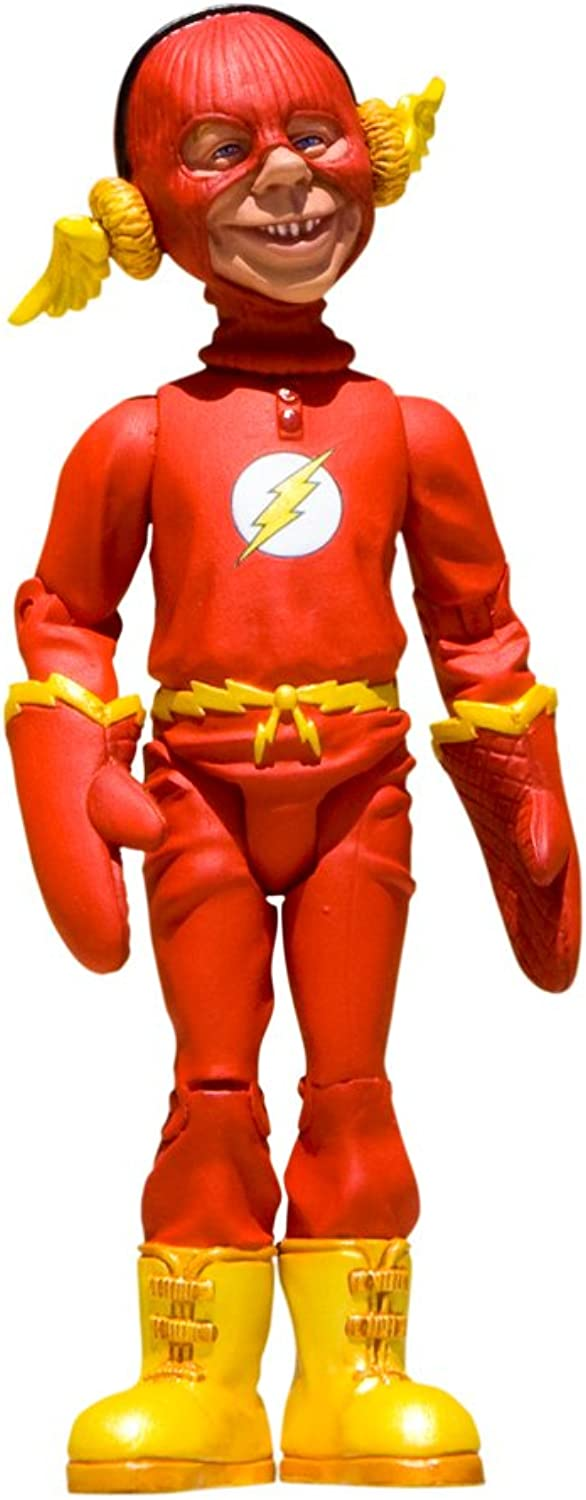 DC Collectibles Just Us League of Stupid Heroes  Series 2  Alfred E. Neuman as The Flash Action Figure