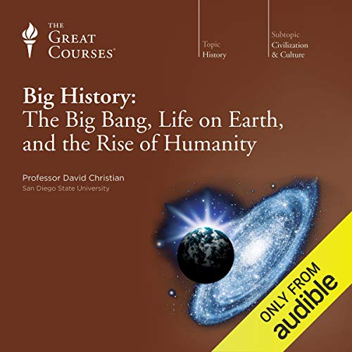 Big History: The Big Bang, Life on Earth, and the Rise of Humanity Titelbild