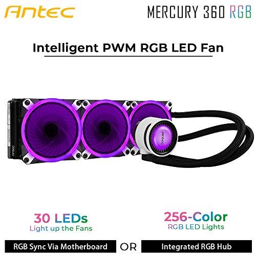 【Mercury360 RGB】ASUS AURA SYNC対応の水冷一体型ユニット