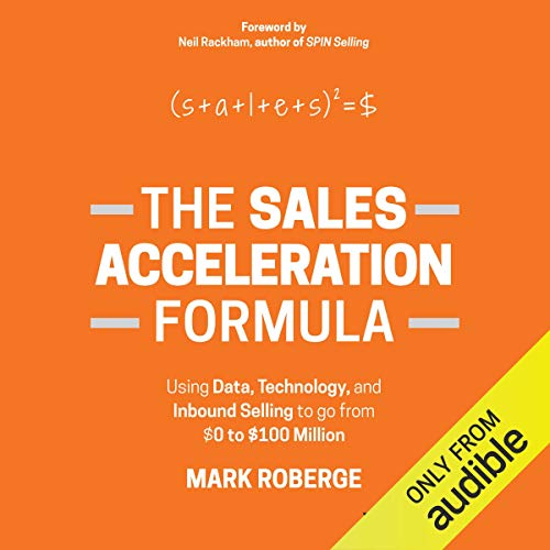 The Sales Acceleration Formula audiobook cover art
