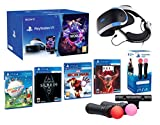 PlayStation VR2 [MegaPack]: Skyrim + Doom + Everybody's Golf + Iron Man + VR Worlds + 2 Mandos Twin Move Controllers