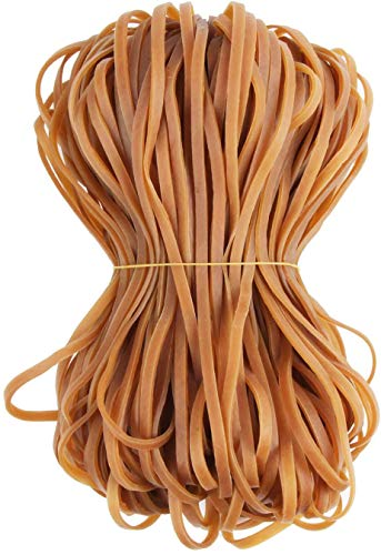 Blackpaistar 160 Pack Rubber Bands (8 inches) can be Used for Trash can Belts, School Supplies, Waste Paper, Furniture, folders, Litter Boxes, etc