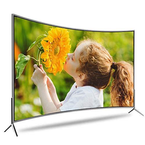 XZZ Téléviseur LCD, Téléviseur incurvé, Téléviseur HD Ultra-Mince 4K, Fonction de Projection de téléphone Portable, Écran antidéflagrant, 32 Pouces / 50 Pouces / 55 Pouces