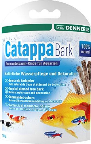 Dennerle Catappa Bark - natürliche Wasserpflege und Dekoration für tropenähnliches Aquarienwasser