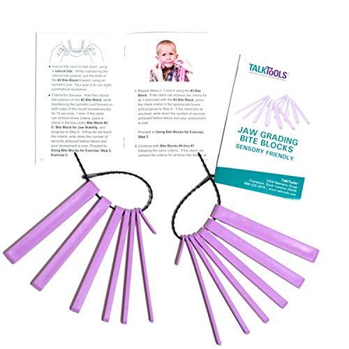 Talktools Sensory Bite Blocks (Purple) - (2 Pack)