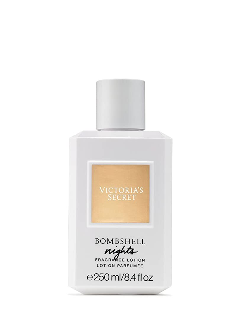 脅迫家族ハッチBombshell Nights (ボムシェル ナイツ) 8.4 oz (252ml) Fragrance Body Lotion ボディーローション by Victoria's Secret for Women