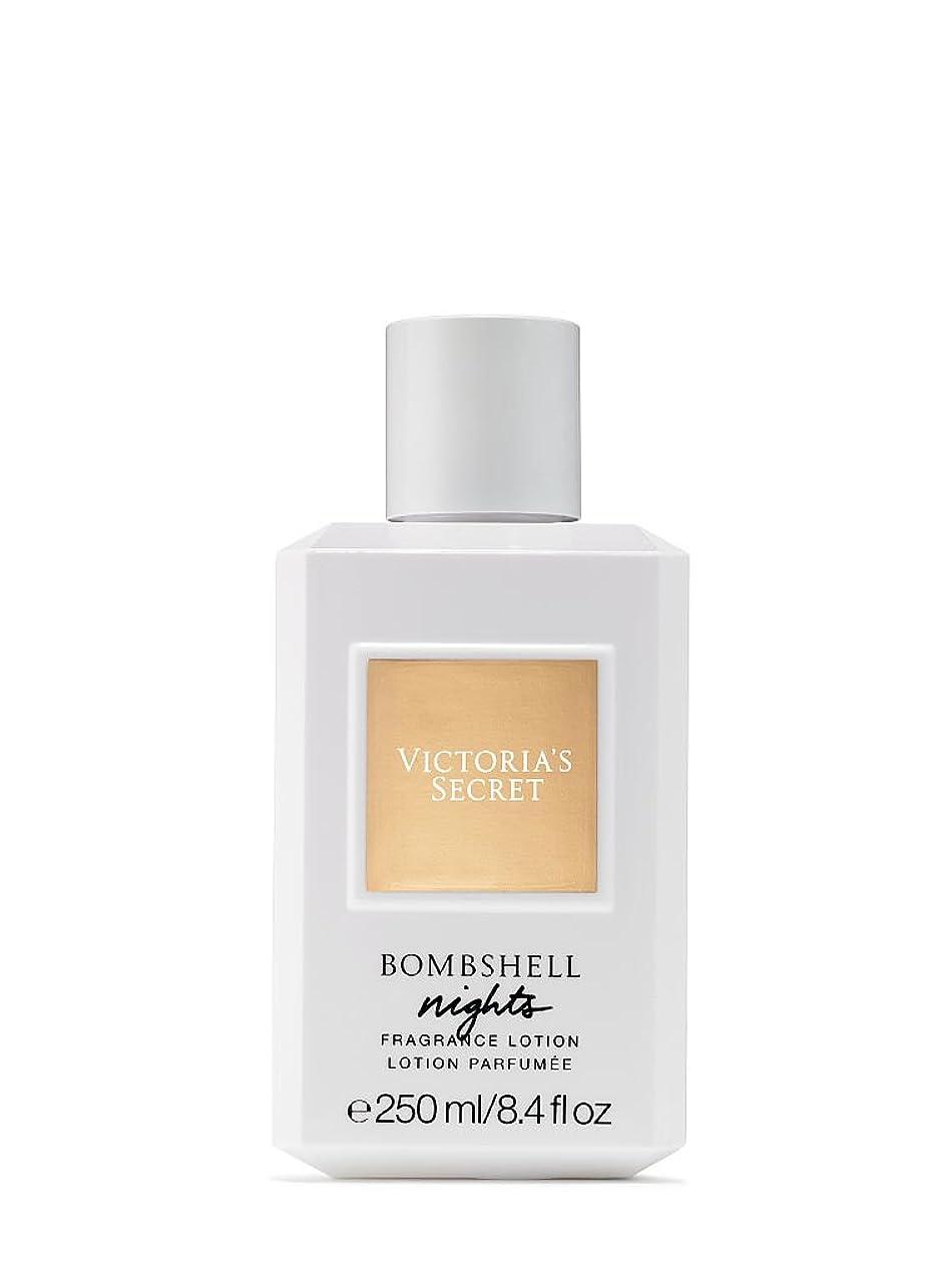キャンプ曖昧な約Bombshell Nights (ボムシェル ナイツ) 8.4 oz (252ml) Fragrance Body Lotion ボディーローション by Victoria's Secret for Women