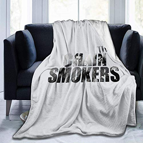 The Chainsmokers Fleece Blanket Fuzzy Soft Throw Microfiber Plush Luxury The Chainsmokers