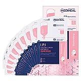 Mediheal Maschera IPI Lightmax Ampoulex 10 Maschere - Maschera in foglio a 2 passaggi + Cura della pelle in fiala, luminosità e schiarimento della pelle, maschera in tessuto n. 1 della Corea