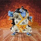 Statue animate Decorazioni Modello One Piece 20th Anniversary Jinbe Anime Figure Action Figure Toy Anime Figurine Ornamenti da collezione