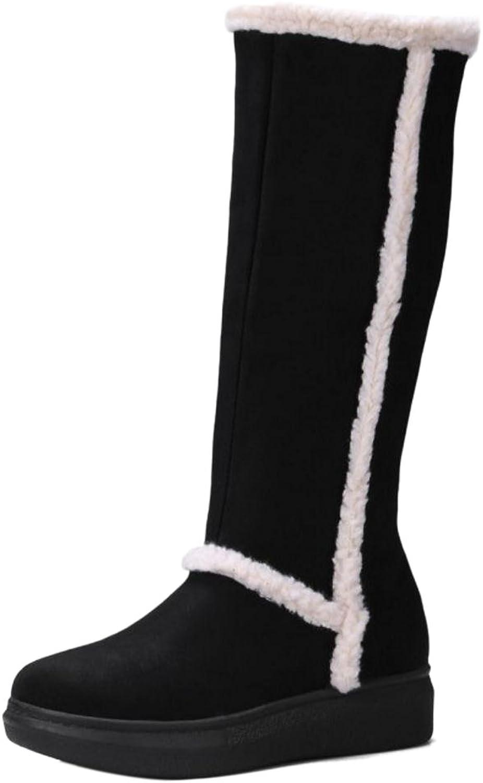 FizaiZifai Women Warm Tall Boots