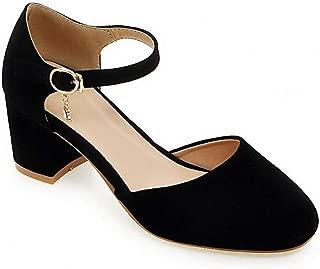 BalaMasa Womens APL12278 Pu Heeled Sandals