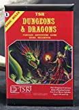 TSR Dungeons & Dragons Rulebook #1 Book Cover Refrigerator Magnet.