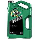Quaker State Motor Oil, Conventional 10W-30 (5-Quart, Single Pack)