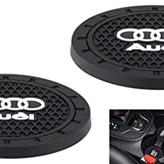[PERFECT SIZE] 2.75 inch Diameter Fits 99% Cars In the Market, Also Can be Used at Home/Office. (Please Check the Diameter of Car's Cup Slot Before Order) [HIGH QUALITY] Made of Premium Quality Environmentally Friendly 5mm Thick Silicone Makes it Dur...