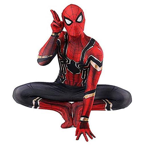 Bailu Halloween Superhero Cosplay Costume Unisex Bodysuit Dress Up Pretend Play Suit