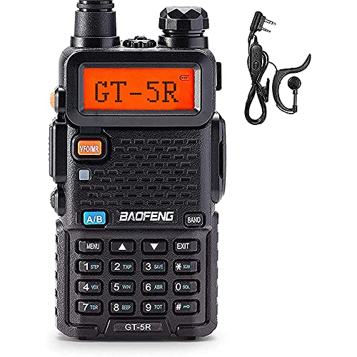 BAOFENG Upgraded Two Way Radio for Adults Long Range, Dual Band 144-148MHz & 420-450MHz FCC Compliant Walkie Talkies Rechargeable, Portable Ham Radio, VOX with Earpiece, Support Chirp
