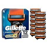 Gillette ProGlide Power - Cuchillas de afeitar para hombre (12 unidades)