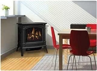 Napoleon GVFS60-1P Fireplace, Propane Stove Vent Free 30,000 BTU - Painted Metallic Black