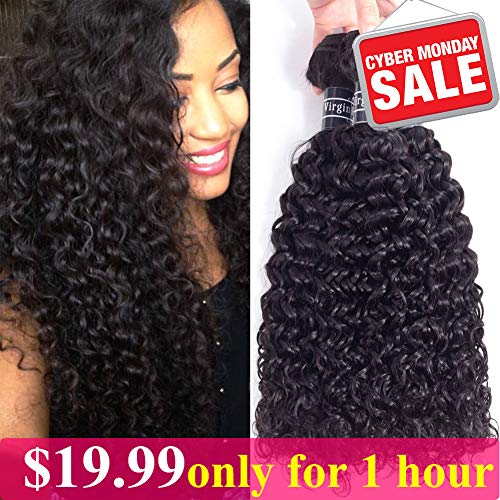 Brazilian Virgin Kinky Curly Human Hair Extensions