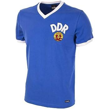 COPA Football - Camiseta Retro DDR Mundial 1974 (M): Amazon.es: Deportes y aire libre