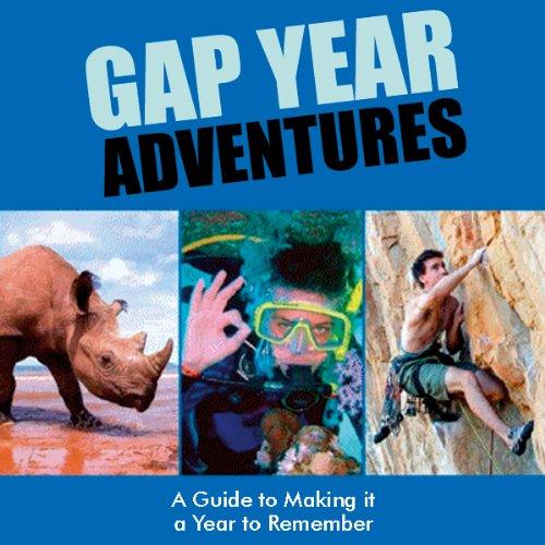 Gap Year Adventures audiobook cover art