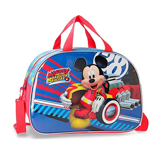 Disney World Mickey Borsone 40 centimeters 24.64 Multicolore (Multicolor)