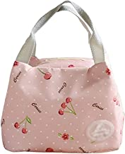 Outdoor camping picnic bag Lunch Box Bag Female Insulated Bag Lunch Bag Bag with Bag Bag Canvas Bag Cute Student Bag Lunch...