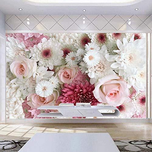 DZBHSCL fotobehang, creatief, mooi, klassiek, pioenrozen, HD-kunst, grootformaat, fotopapier, voor posters, ontvangst, woonkamer, slaapkamer, wanddecoratie 64in×100in 160cm(H)×250cm(W)