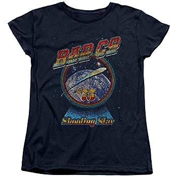 Bad Company Shooting Star Women s T Shirt Large Navy