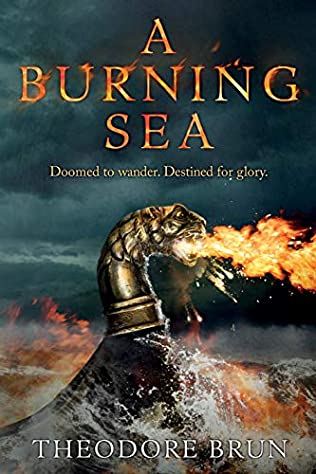 book cover of A Burning Sea