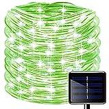Oluote Luces de Cuerda Solar, Impermeable al Aire Libre 100 LED 33...