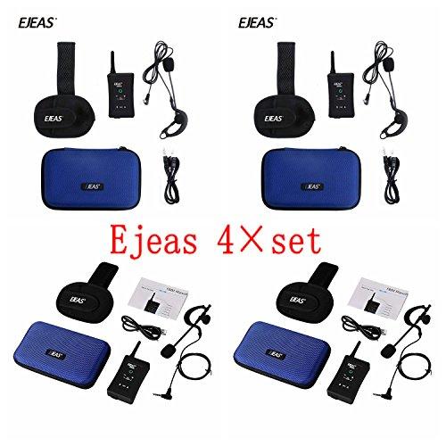 Intercomunicador Bluetooth inalámbrico duplex 4x FBIM Wireless Bluetooth Intercomunicador para árbitros de fútbol Comunicación Grupo Funciona con Walkie Talkie 1200m